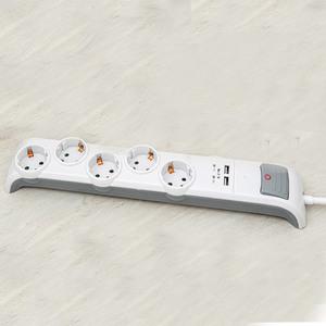 """Powertec Electric Design-Steckdose """"Brücke"""" - 5-fach"""