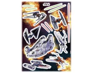 Dekosticker Star Wars Spaceship ca. 50 x 70 cm