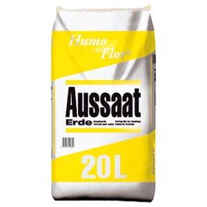Aussaaterde Humoflor® 20 Liter schwach aufgedüngt