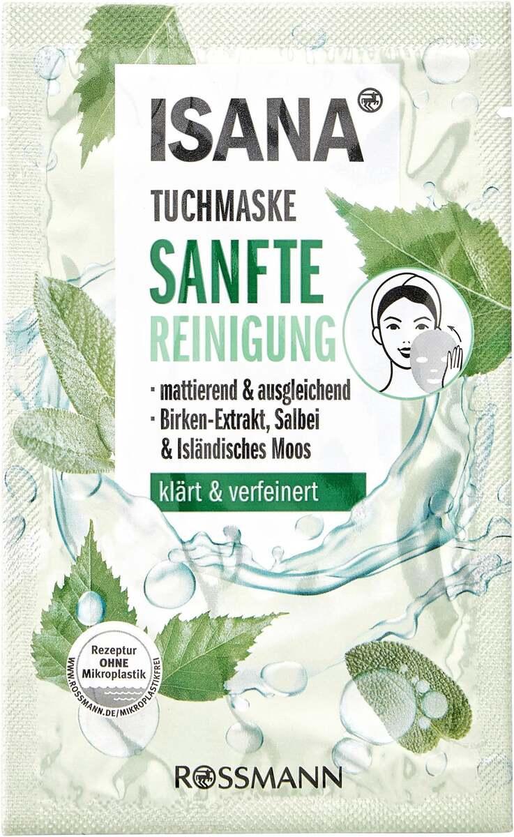 Bild 1 von ISANA Tuchmaske Sanfte Reinigung