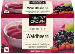 KING'S CROWN Früchtetee Waldbeere