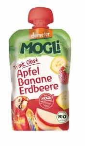 MOGLi Bio Trink Obst Apfel, Banane, Erdbeere
