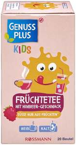 GENUSS PLUS KIDS Früchtetee