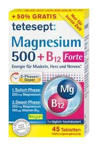 tetesept Magnesium 500 + B12 Forte Tabletten