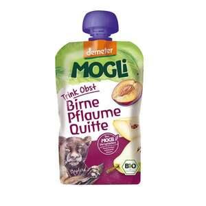 MOGLi Bio Trink Obst Pflaume, Birne, Quitte