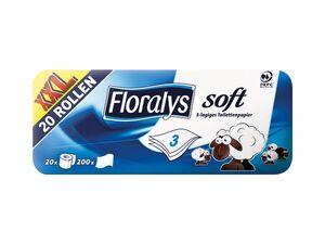 Floralys Toilettenpapier soft XXL-Packung