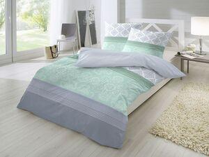 Primera Feinbiber Bettwäsche, mit Reißverschluss, aus reiner Baumwolle
