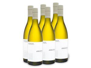 6 x 0,75-l-Flasche Weinpaket Weinkenner by Pfaffl Johanna Cuvée, Weißwein