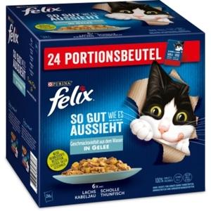 Felix So gut wie es aussieht 24x85g Geschmacksvielfalt aus dem Wasser