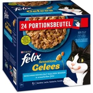 Felix Sensations Gelees 24x85g Geschmacksvielfalt aus dem Wasser