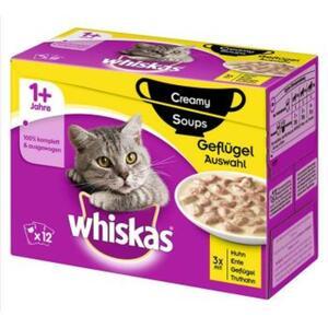Whiskas Adult 1+ Creamy Soups 12x85g Geflügel Auswahl