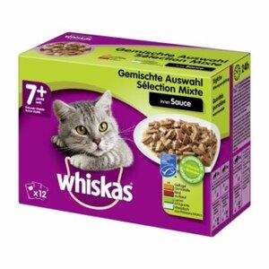Whiskas Senior 7+ 12x100g Sauce Gemischte Selektion