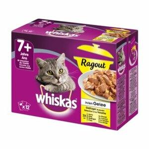 Whiskas Senior 7+ Ragout 12x85g Geflügelauswahl