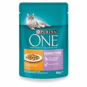 Purina ONE Sensitive mit Huhn & Karotten 24x85g Sensitive mit Huhn und Karotten  24x85g