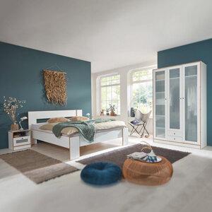 Schlafzimmer-Set, 4-tlg.