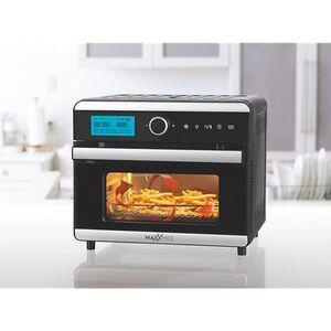 MAXXMEE Heißluft-Ofen Digital 18l 1500W schwarz/Edelstahl