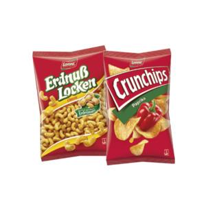 Lorenz Crunchips oder Erdnußlocken