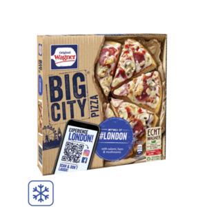 Original Wagner Big City Pizza oder Die Backfrische Pizza