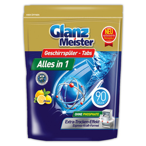 GlanzMeister Geschirrspüler-Tabs Alles in 1