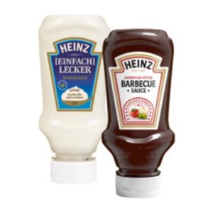 Heinz Ketchup, Feinkostsaucen, American Mustard oder Mayonnaise
