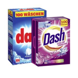 Dash oder Dalli Waschmittel