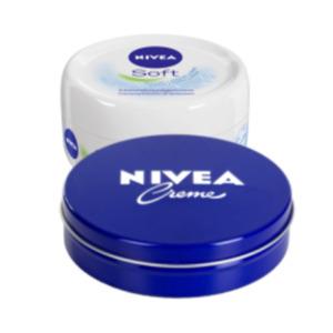 Nivea Pflegecreme oder Soft Feuchtigkeitscreme