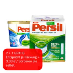 Persil Waschmittel Pulver, flüssig oder Discs