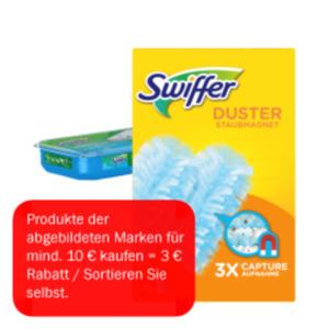 Swiffer Staubmagnet Starter-Set, Staub- oder Wischtücher