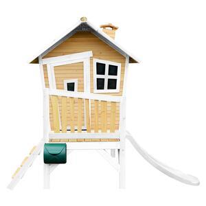 Spielhaus Robin in Braun/Weiß