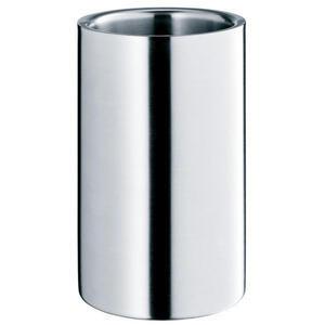 WMF Weinkühler , 0683969990 , Edelstahlfarben , Metall , 19.5 cm , matt , doppelwandig, unzerbrechlich, rostfrei, für alle gängigen Flaschentypen , 0037314253