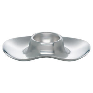 WMF Eierbecher metall , 0617039990 , Edelstahlfarben , Uni , 805x13.5 cm , 0037311746