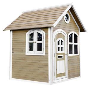 XXXLutz Spielhaus julia , A030.034.01 AXI Julia , Braun, Weiß , Holz , Zeder , 137x175x151 cm , 004005011801