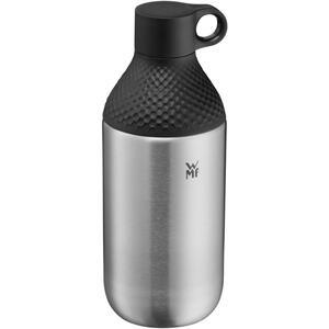 WMF Trinkflasche 0,5 l , 06 6446 6030 , Schwarz, Silberfarben , Metall, Kunststoff , 003731219101