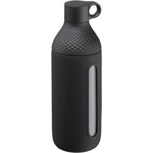 WMF Trinkflasche 0,5 l , 09 5056 7390 , Schwarz , Kunststoff, Glas , Uni , 003731219801