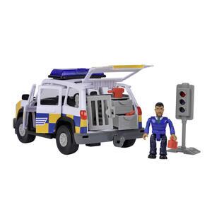 Simba Polizeiauto , 109251096 , Multicolor , Kunststoff , 19 cm , Musik,Musik,Musik , 004500052101