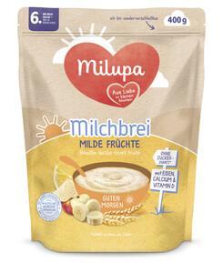 Milupa Guten Morgen Milchbrei Milde Früchte ab dem 6.Monat 400G