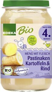 EDEKA Bio Pastinaken, Kartoffeln & Rind nach dem 4.Monat 190G