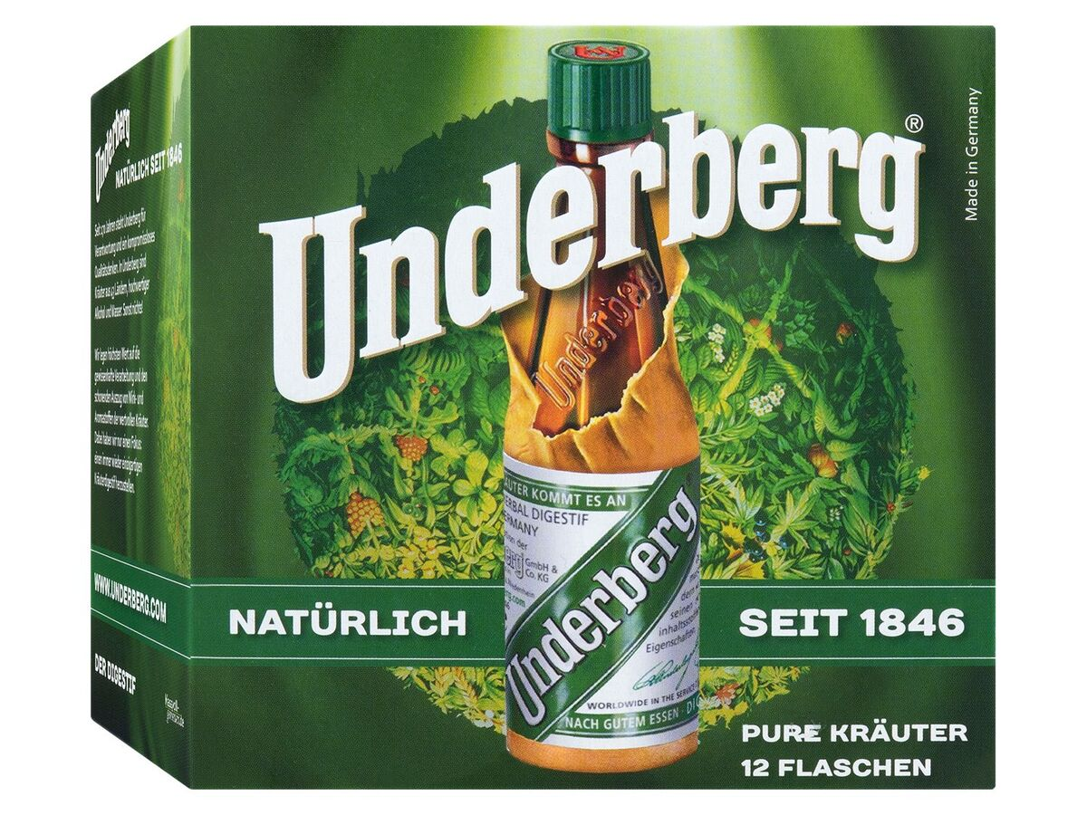 Bild 3 von Underberg 12 x 0,02 l 44% Vol