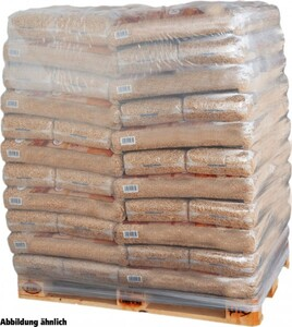 Holzpellets 15 kg Palettenabnahme, 65 Beutel