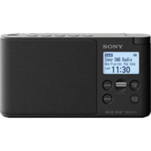 SONY XDR-S41D Radio, PLL-Synthesizer, FM, DAB, DAB+, Schwarz
