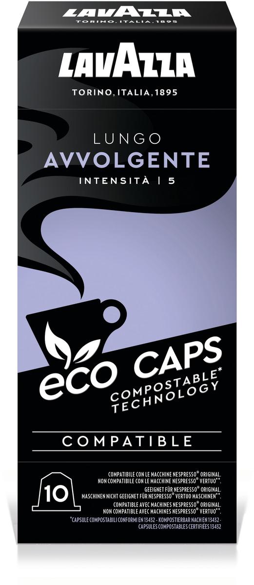 Bild 2 von LAVAZZA 8253 NCC ECO Lungo Avvolgente Kaffeekapseln