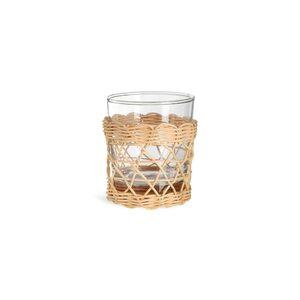 Trinkglas Weaving