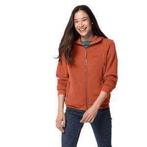 Jack Wolfskin White Coast Jacket Women Fleecejacke Frauen XS orange saffron orange