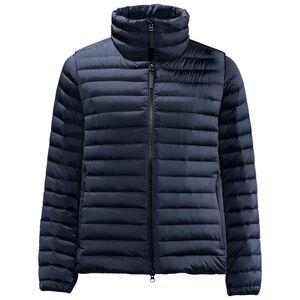 Jack Wolfskin Upper East Twin Jacket Women Winddichte Daunenjacke Frauen XS blau midnight blue