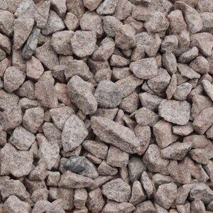 25 kg Granitsplitt rötlich 16-22 mm Körnung