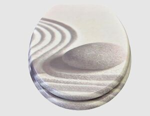 WC-Sitz Sand