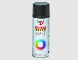 Spraylack matt schwarz