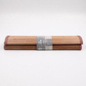 2er-Pack Platzsets / Tischset / Tischmatte / Platzmatte´Bambus, ca. 45 x 30 cm