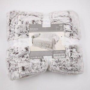 "Fleecedecke/Kuscheldecke ""Home Love"", ca. 150 x 200 cm, 100 % Polyester, grau"