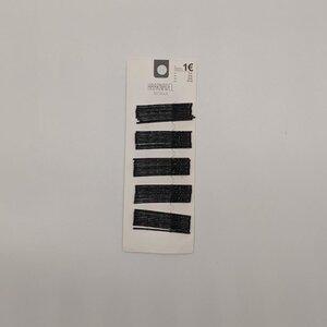 Haarnadeln, 50 Stück, schwarz